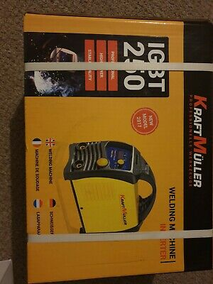 Kraft Muller Professional Electric Welder( Inverter) 250A Made In Germany