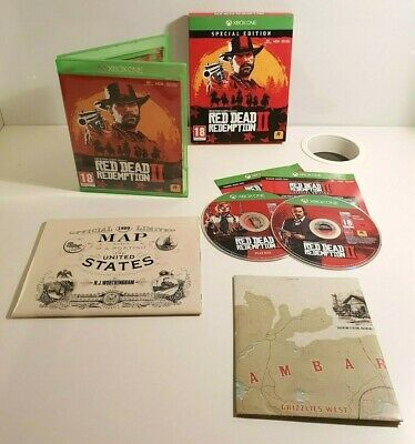 Red Dead Redemption 2 Special Edition Game for Xbox One - PAL - VGC - RDR