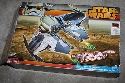 STAR WARS - Rebels Edition - Obi-Wan's Jedi Starfighter - Box & Complete -Hasbro