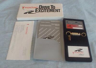 1994 Pontiac Bonneville Roadside Service Kit-Complete with Key Keychain Etc.