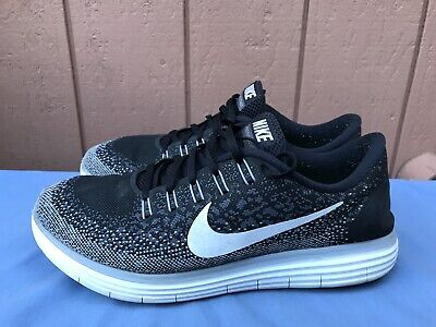17f80459ad63 NIKE FREE RN Distance Running Shoes Mens Size US 11 Black 827115-010 ...