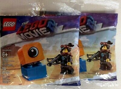 2 Lot The LEGO Movie 2 Lucy vs Alien Invader 30527 Sealed W/Free Legoland Ticket