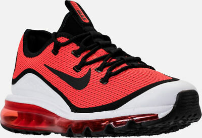 f21517a55f481 MEN S NIKE AIR Max More Casual Running Shoes Red   White Sz 9 AR1944 ...