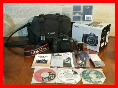 Excellent CANON EOS 5D Mark II 21.1MP Digital Camera Body Low Shutter Count 5009