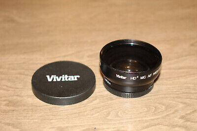 Vivitar HD4 MC AF Hi Def 0.43X WIDE ANGLE CONVERTER LENS WITH MACRO (6c)