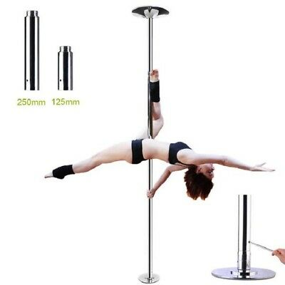 AW Spinning Static Dancing Pole Dance Removable Exotic 45mm Fitness Portable