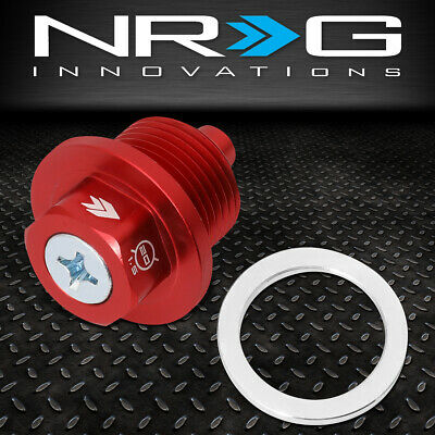 Nrg Innovations Nop-300Rd For Subaru M20X1.5 Aluminum Magnetic Oil Drain Plug