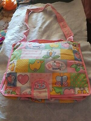Zaph Creation Baby Born Nappy Bag And Accessories