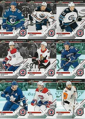 2019 Upper Deck National Hockey Card Day Canada 17 Card Complete Set