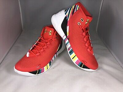 fb50b2cca785 2017 Under Armour UA Steph Curry 3 SZ 10.5 Chinese New Year CNY 1269279-984
