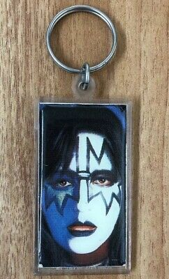 Vintage Kiss Ace Frehley Key Ring Aucoin Management 1980