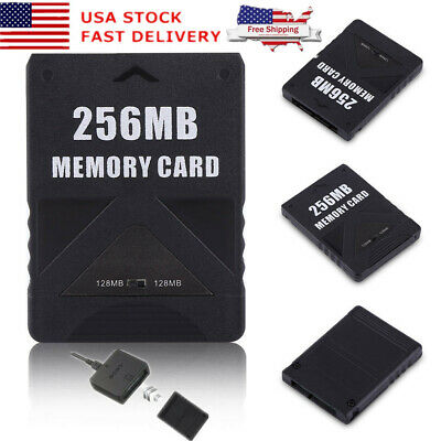 Memory Card 256MB High Speed Storage For PS2 Sony PlayStation2 Game Saves