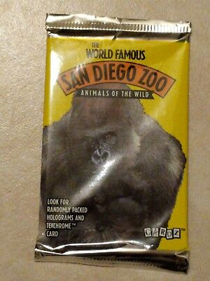 1993 Cardz The World Famous San Diego Zoo Trading Card 1 Pack
