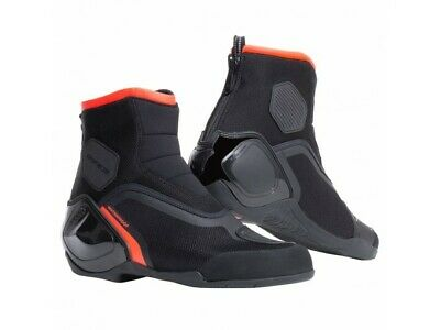Scarponcino Dainese Dinamica D-Wp Nero Rosso Fluo