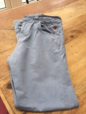 Boys Next Navy Blue Chino Trousers Age 12 Adjustable Waist
