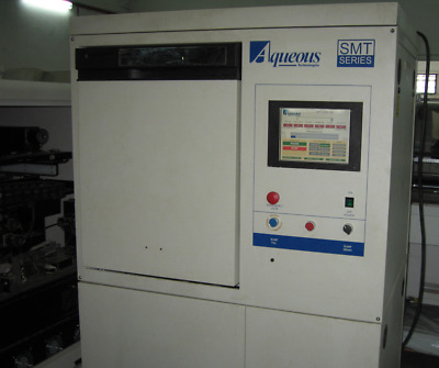 Chemistry-based Batch Cleaning, PCB Washer, Aqueous 1000LD SMT Series, Refurbish