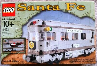 DISCONTINUED LEGO 10022 Santa Fe Cars Set II From 2002 ! Factory