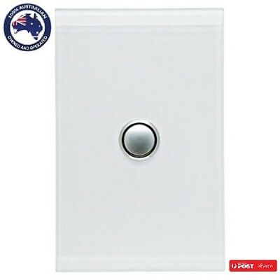 Clipsal Saturn 4061PBL 1Gang Led Push button switch Complete Unit in all Colours