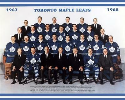1968 Toronto Maple Leafs Team Photo 8X10