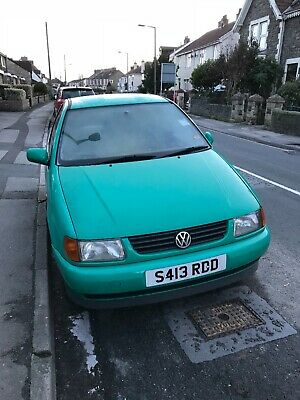 Green polo 1.4 spares or repairs