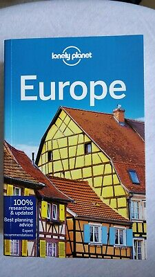 Lonely Planet Europe Travel Guide Like New