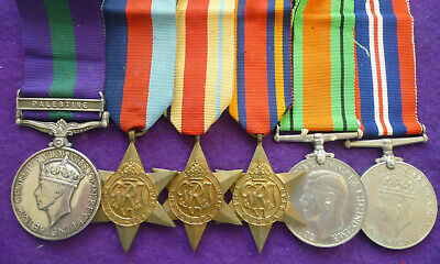 Medals To A Queen's Regiment Chindit
