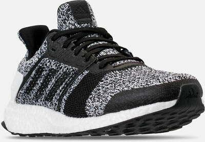premium selection 3b860 20da0 Mens Adidas Ultra Boost Ultraboost ST Running Shoes White  Black Sz 9  CM8273