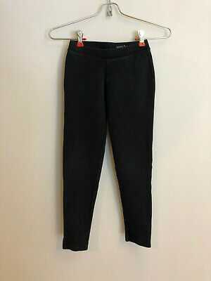 Crewcuts Jcrew Girls Black Cozy Leggings Size 8 Super Cute!