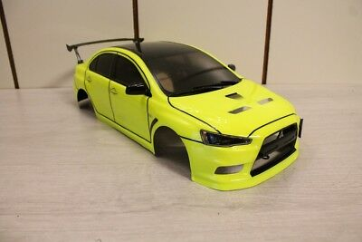 tamiya mitsubishi lancer evolution x rc karosserie. Black Bedroom Furniture Sets. Home Design Ideas