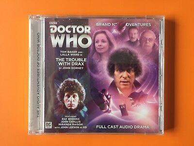 Doctor Who Big Finish THE TROUBLE WITH DRAX Tom Baker