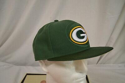 Green Bay Packers New Era NFL 2016 Sideline Official 59FIFTY Fitted Hat 7 7  8 c0ddd5597