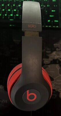 563e90cac3a Beats by Dr. Dre Solo 2 Wireless Headband Wireless Headphones - Siren Red