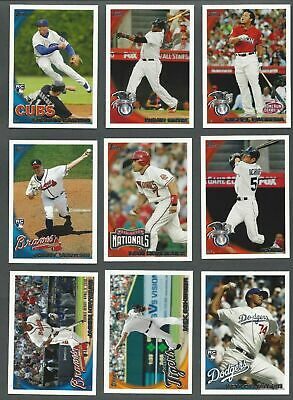2010 TOPPS UPDATE SERIES ( ROOKIE. RC's, STARS ) - WHO DO YOU NEED!!!