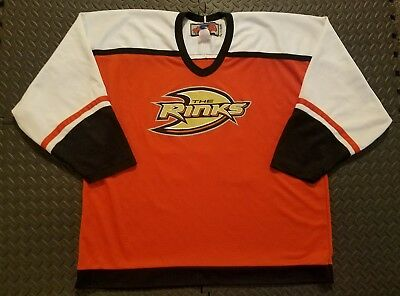 Hommes D'Occasion Hockey Ccm Anaheim Ducks NHL Maillot The Rinks #10 Taille XL