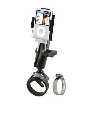 Heavy Duty Strap Clamp Aircraft Rail Mount Holder for iPod Nano 3RD Generation