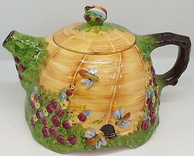 Antiques & Collectibles: Royal Winton's The Beehive Teapot Made By Grimwades(Tk)