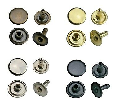 Hollow Rivets Single Head 6mm,7mm,9mm,12mm Steel, Leather, Textiles, Bags,