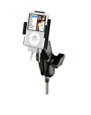 Heavy Duty M8 Motorcycle Clamp Mount Holder for Apple iPod Nano 3rd Generation
