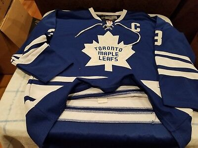 on sale 70bd8 daa4b VINTAGE TORONTO MAPLE Leafs Dion Phaneuf Reebok Fight Strap Jersey 52  Replica