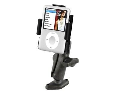 Flat Surface Drill Down Mount Holder Kit fits Apple iPod Nano 3rd Generation