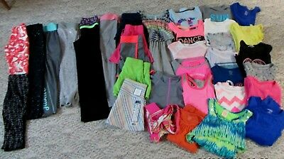 Huge Girls Size 7/8 Justice  & More Clothing Lot