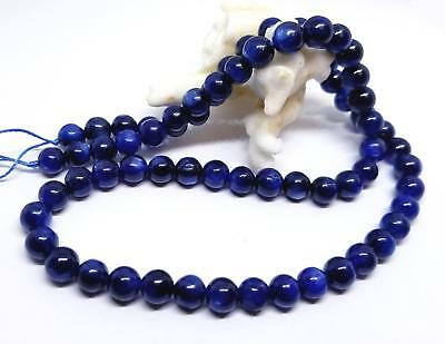 """RARE NATURAL FABULOUS CASHMERE BLUE KYANITE ROUND BEADS 6mm 16"""" AAAA"""