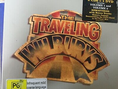 TRAVELING WILBURYS - The Collection CD / DVD 2007 Rhino / *MISSING DISC 1*