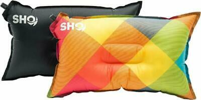 SHO YOUR Pillow Ultimate Self Inflating Camping Pillow, Travel Pillow, Air Pillo