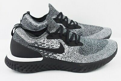 b2e5e64205d2 Nike Epic React Flyknit Mens Size 11 Running Shoes Cookies and Cream AQ0067  011