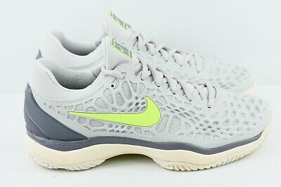 dd5096751d1 NIKE AIR ZOOM Cage 3 HC Women s Tennis Shoes Size 8.5 White Blue Red ...