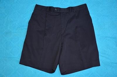 "NNT Uniforms Size 36"" - 92cm NAVY WORK SHORTS Casual/Work Wear  NEW Pleat Front"