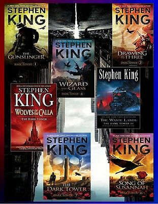 The Dark Tower Series Complete AudioBooks Collection by Stephen King