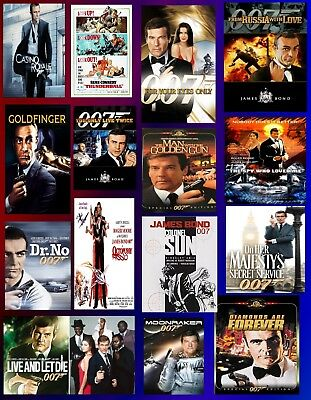 James Bond Series AudioBooks Collection by Ian Fleming
