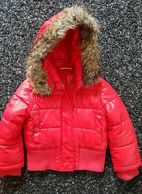 Country Road size 2 thick hooded jacket